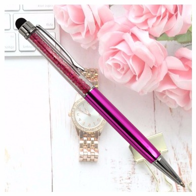 CRYSTAL BALL POINT PENS